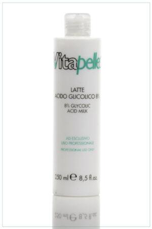 Latte linea Acido Glicolico 8% Vitapelle
