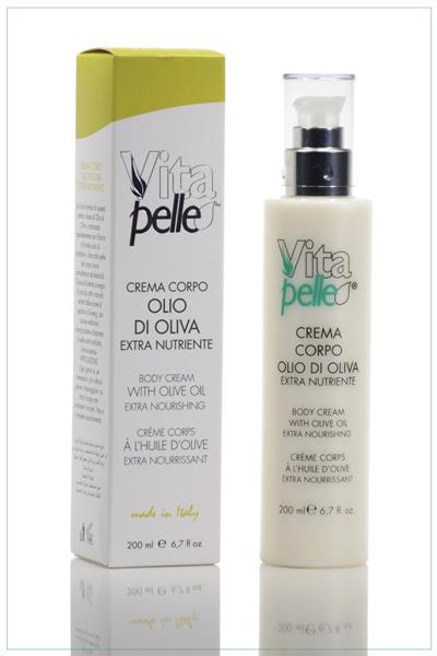 Crema corpo linea olio d'oliva Vitapelle
