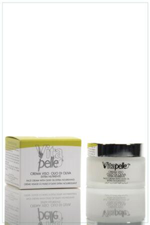 Crema viso linea olio d'oliva Vitapelle
