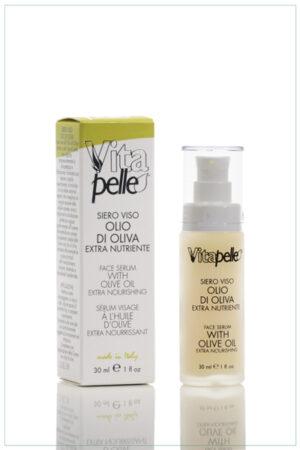 Siero viso linea olio d'oliva Vitapelle